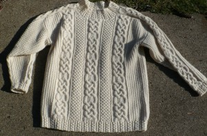 Irhish Fishermans Sweater