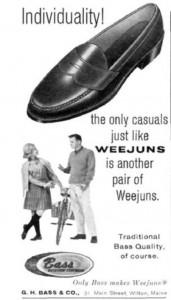 1963 Bass Weejun Ad