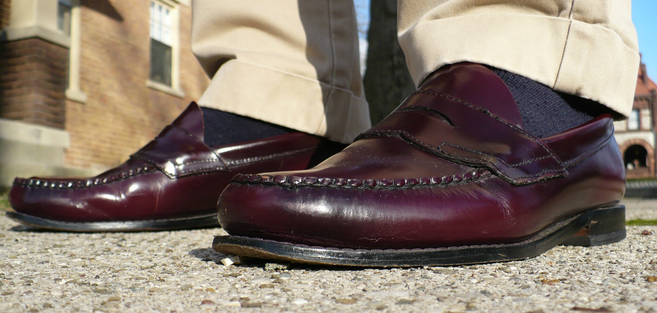 27e8e070fe7 Burgundy Bass Weejun Burgundy Bass Weejun Penny Loafer