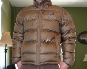 Patagonia jacket zipped