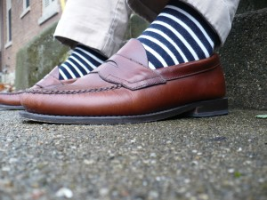 Blue-White-Striped-Socks