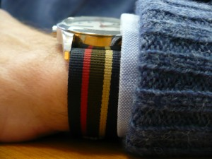 Shetland Sweater and Watchband