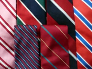 Repp and Stripe ties