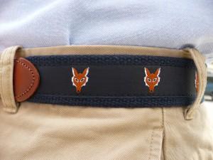 Fox Motif Belt