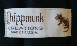 Chipmunk Label