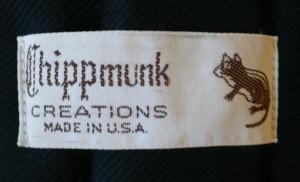 Chipmunk Label