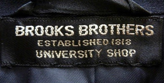 Brooks Brothers University Shop New