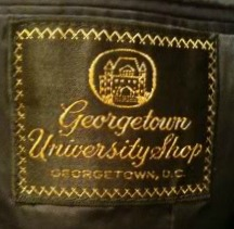 Georgetown University Shop Clothing Label