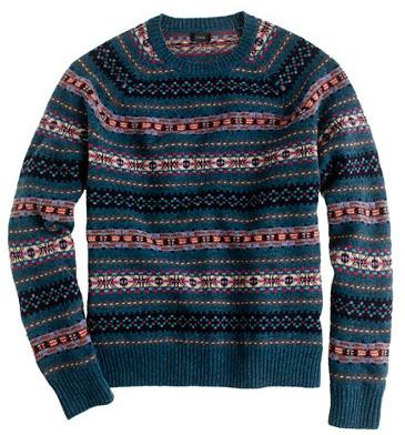 J.CREW: Fair Isle & Lambswool Sweaters |