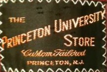 Princeton University Store Clothing Label