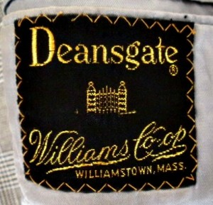 Deansgate William Co-op clothing label
