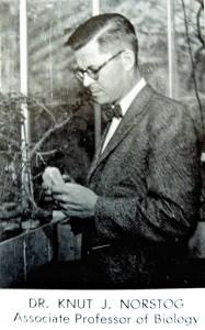 Dr. Norstrog Wittenberg University 1958