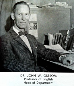 Dr. Ostrom Wittenber University 1958