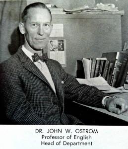 Dr. Ostrom Wittenber University 1958