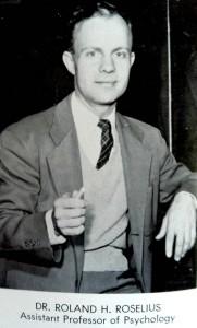 Dr. Roselius Wittenberg University 1958