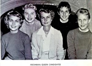 Wittenberg University Freshman Queen Candidates