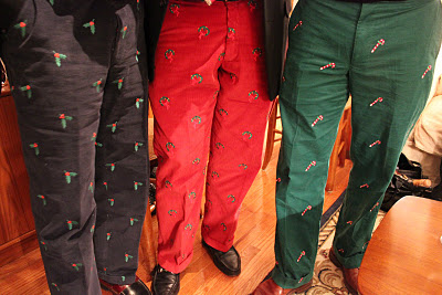 Mens Embroidered Pants