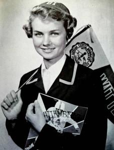 Witt Girl with Pennant
