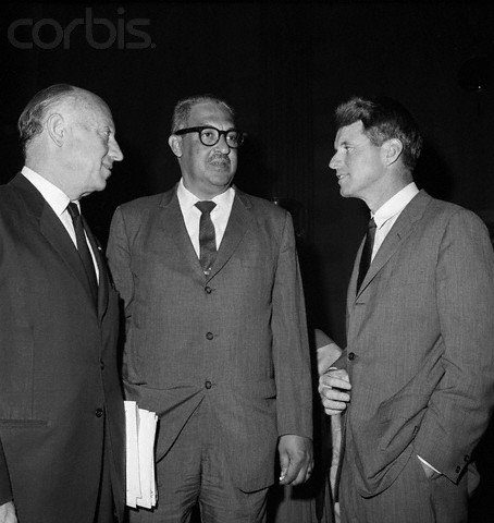 Judge Marshall,Javits & R. F. Kennedy