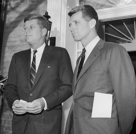 John Kennedy and Bobby Kennedy
