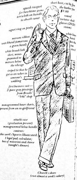 The Preppy Young Executive