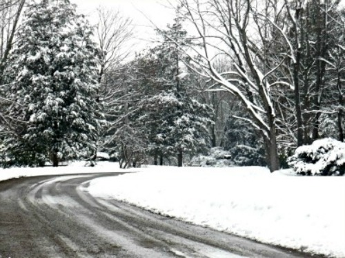 Snowy Roads