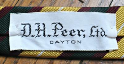 D.H. Peer, Ltd Tie