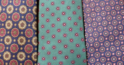 Non-Stripe Tie Close-ups