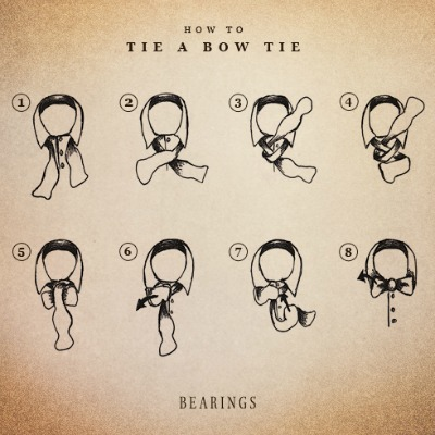 Bearings Bow tie Illustration