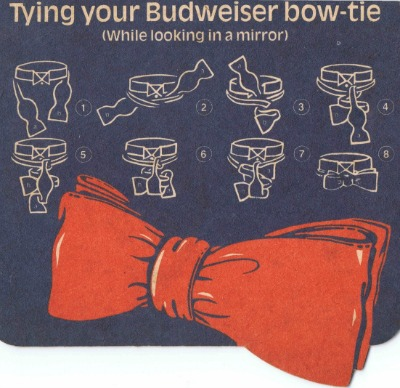 Budweiser - How to tie a bow tie