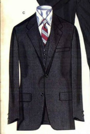 1981 3 piece Brooks Brothers
