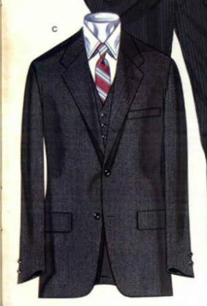 1981 3 piece Brooks Brothers