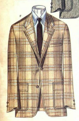Brooks Brothers Jacket Winter 1981 Plaid