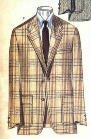 Brooks Brothers Jacket Winter 1981 Plaid