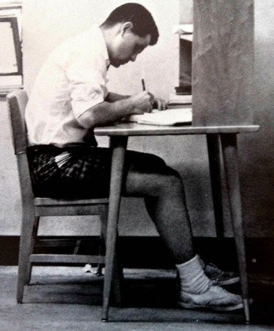 College Kid in Keds 1960