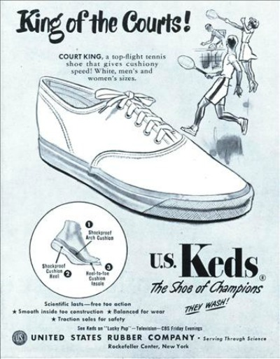 Keds King of Courts Ad