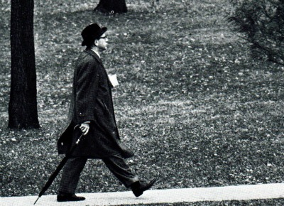 Professor Walking to class 1967