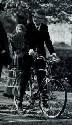 Professor on Bicycle