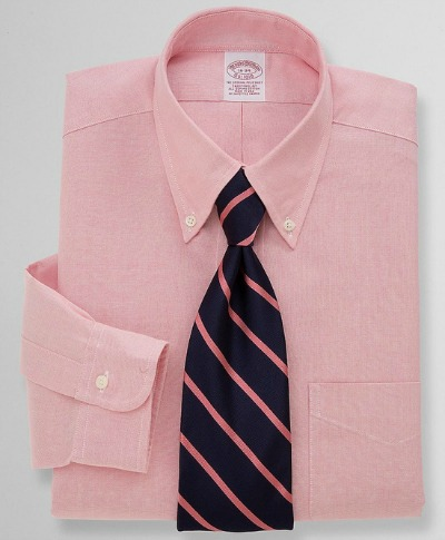 Pink OCBD with Blue & Pink Tie