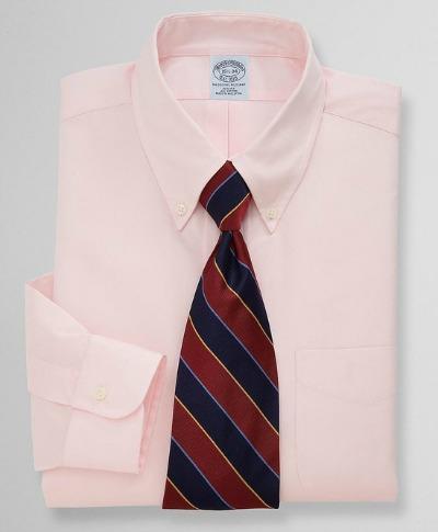Pink OCBD with Repp Tie