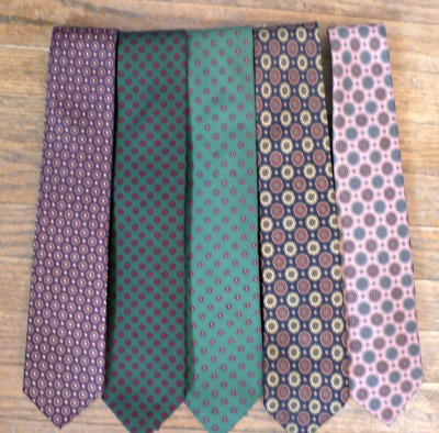 Tie Collection - Patterns