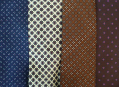Tie Collection Patterns 2 Close-up