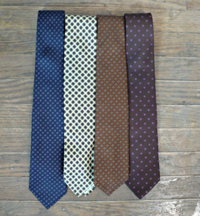 Tie Collection Patterns 2