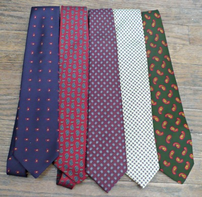 Tie Collection Pines & Cones