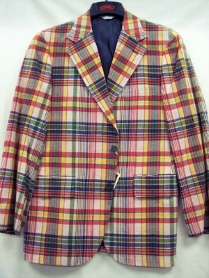 O'Connell's Madras Sport Coat