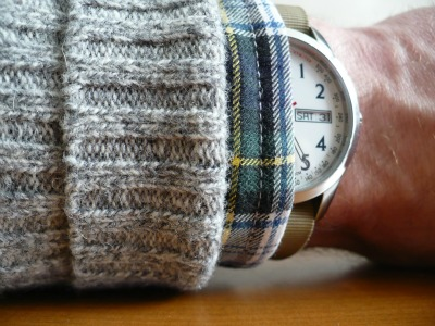 Sweater Tartan Watch