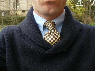 Sweater & Tie