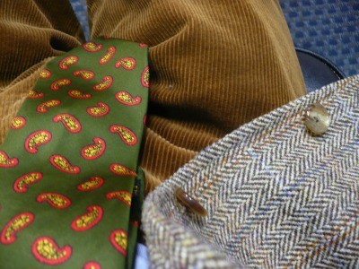 Tweed, Paisley & Cords