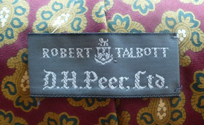 Robert Talbott for D.H. Peer