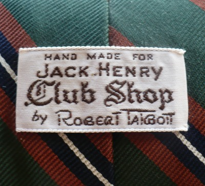 Robert Talbott for Jack Henry